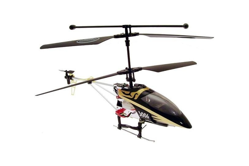 Syma S006 / Syma S006G Alloy Shark RC Helicopter